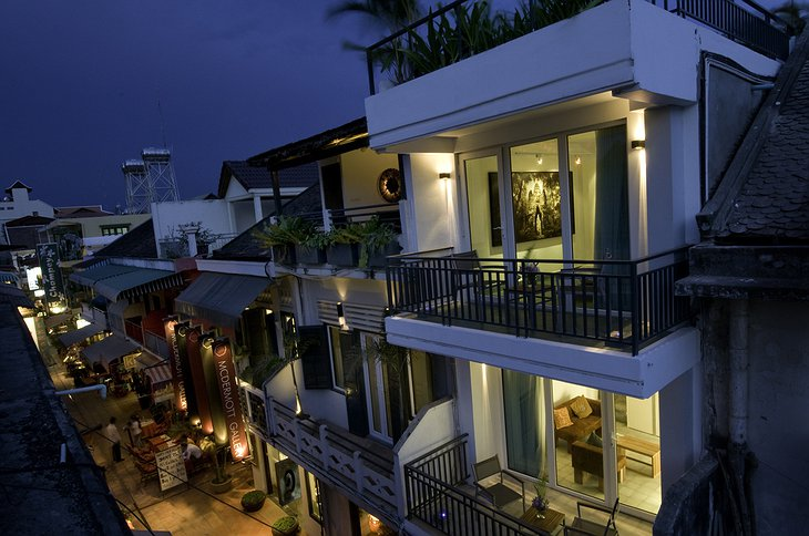 Hotel Be Angkor building in Siem Reap