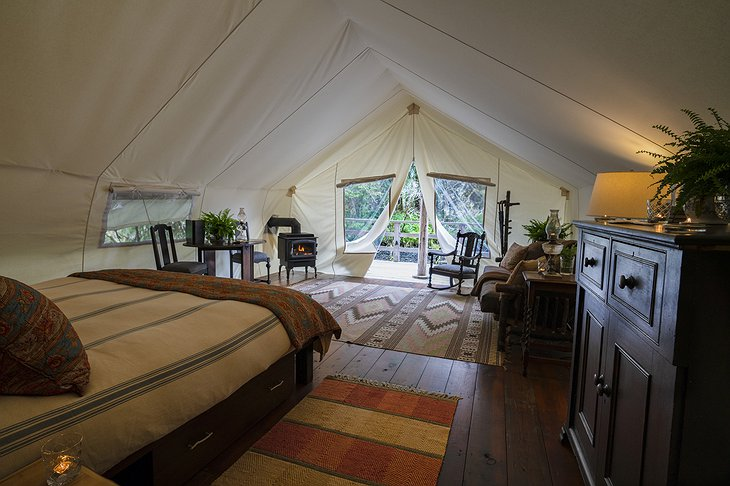 Clayoquot Wilderness Resort Ensuite Tent Nature View