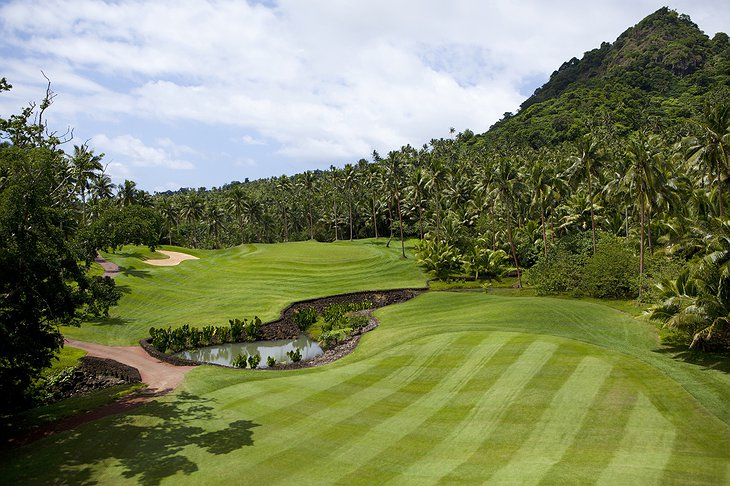 Laucala Island Resort golf