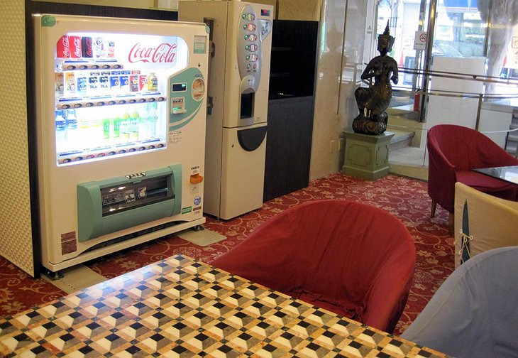 Dotonbori Hotel drink machine