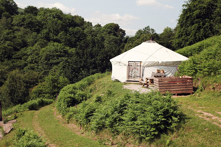 Black Mountains Yurt