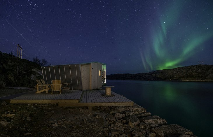 Manshausen Island Northern Lights