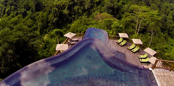 Hanging Gardens Ubud - Split-Level Infinity Pool With View Of The Veiled Jungle