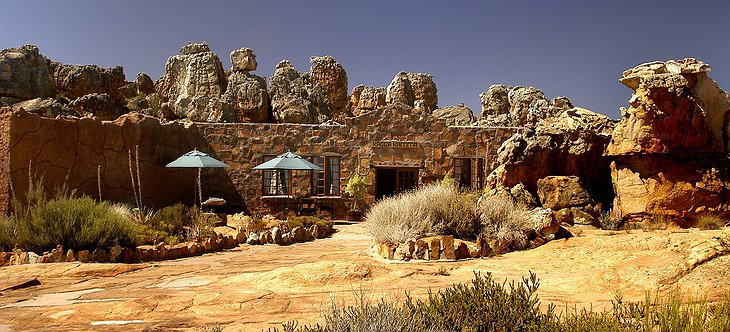 Kagga Kamma Nature Reserve reception building