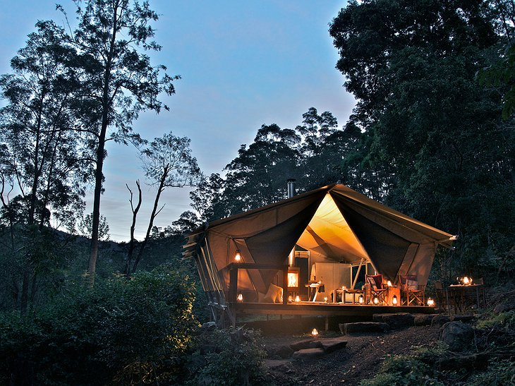 Nightfall Wilderness Camp luxury tent