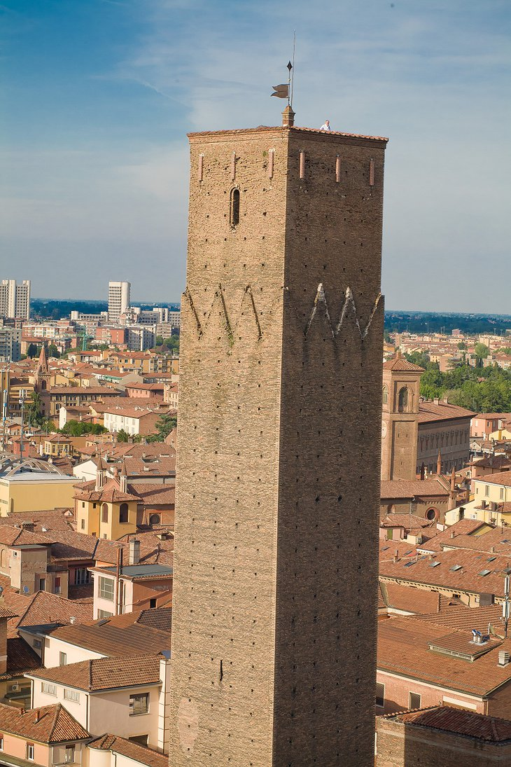 Prendiparte tower from above