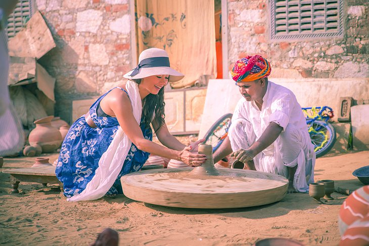 Rajasthan Pottery Class