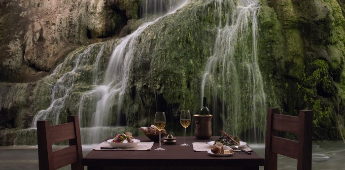 Ma'In Hot Springs Resort & Spa - Hotel in the desert with its own waterfall