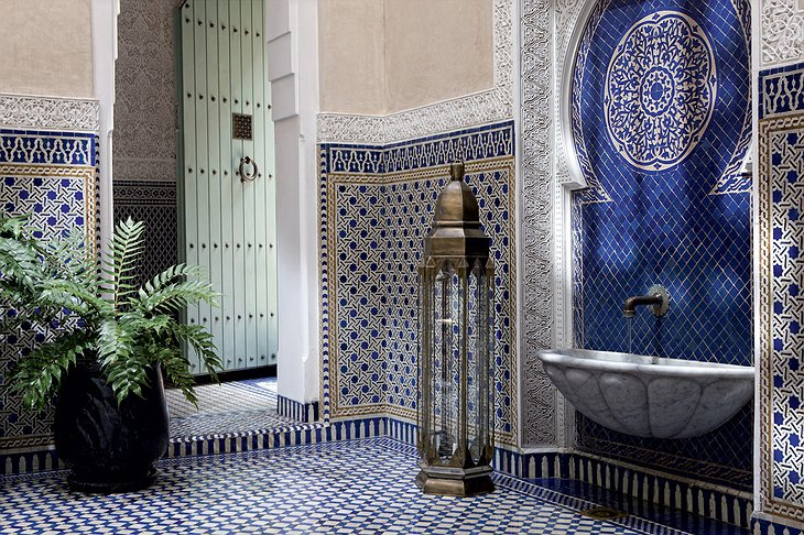 Royal Mansour Marrakech Moroccan design details
