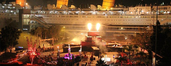 Queen Mary celebration