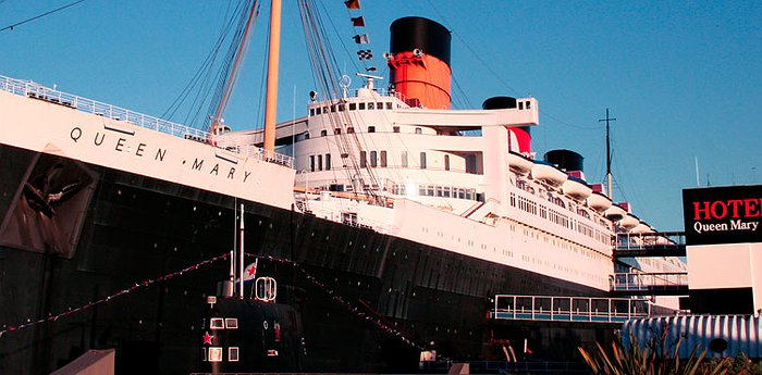 The Queen Mary Hotel - Historic Luxury Liner In Long Beach
