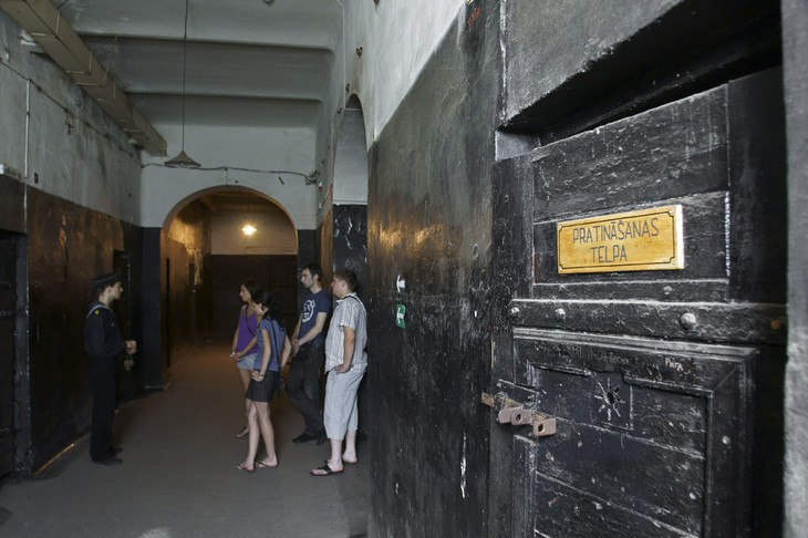 Guided tour to the Karosta Prison