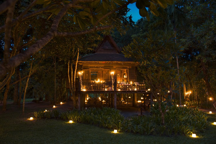 Khmer Village House - Twilight Dinner