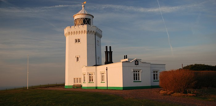 South Foreland Lighthouse - Victorian Landmark At The White Cliffs Of Dover