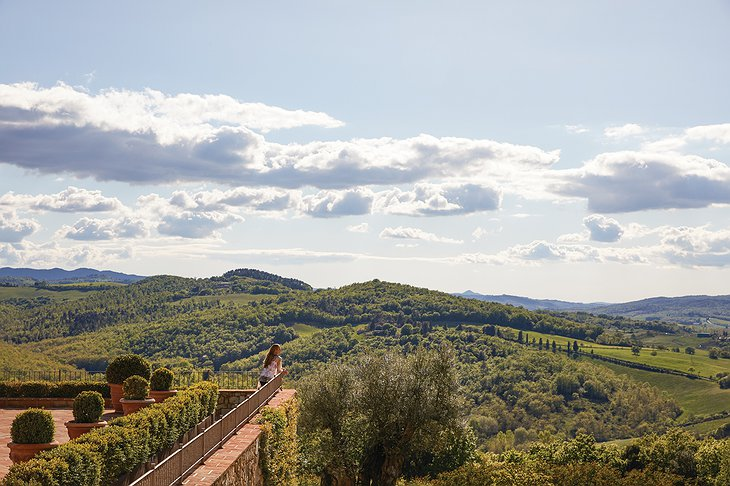 Tuscany Panorama from the Terrace