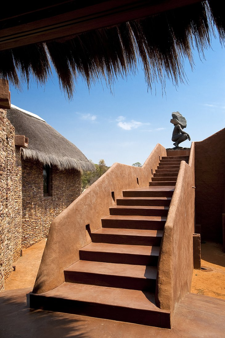 Leobo Private Reserve stairs