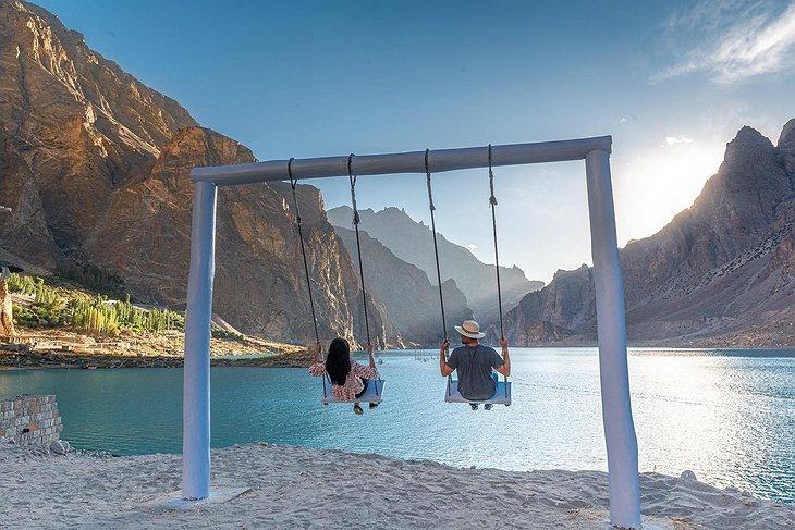 Lake Attabad Giant Swing