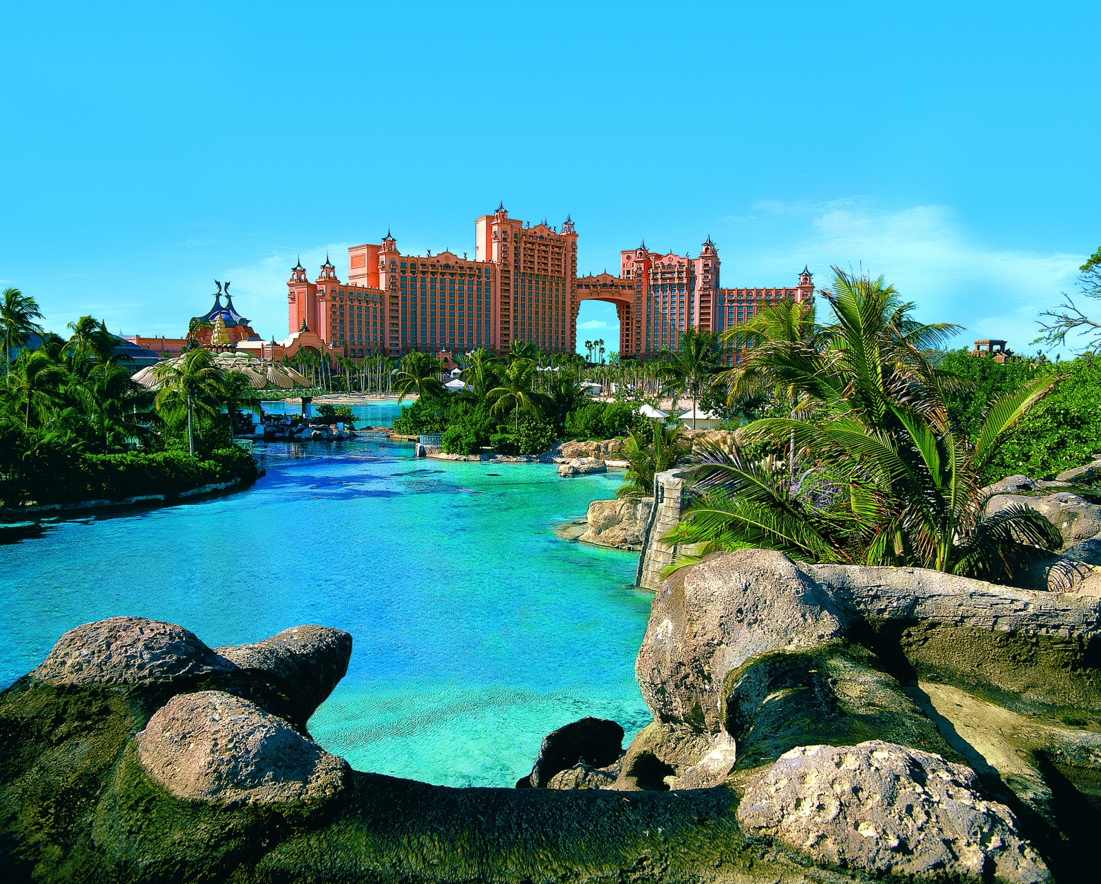 Atlantis Paradise Island resort in The Bahamas