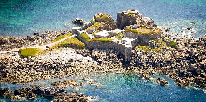 Fort Clonque - Beautifully Restored British Seaside Fort