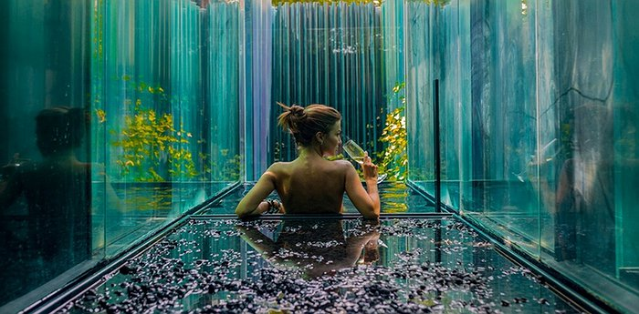 Les Cols Pavellons - Spectacular All-Glass Suites With Private Onsen Baths