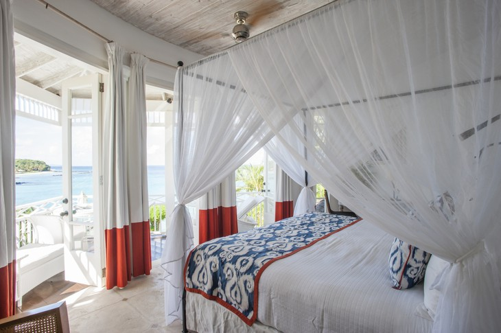 Mustique Island bedroom with views