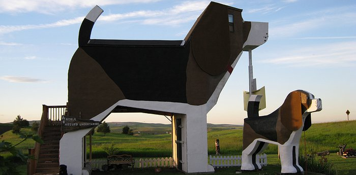 Dog Bark Park Inn – And Bingo Was His Name-Oh