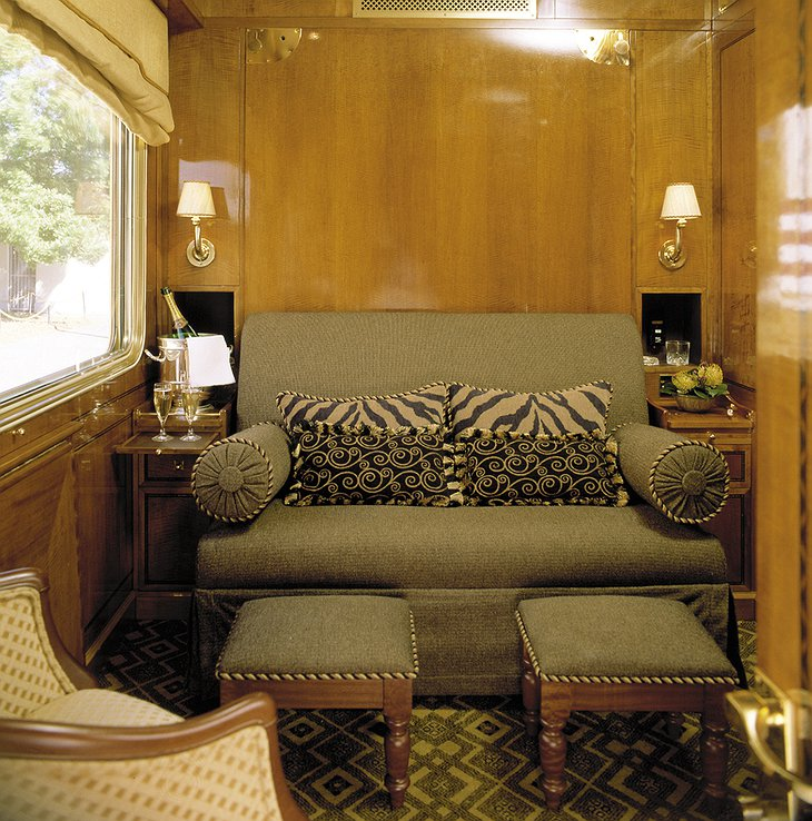 The Blue Train double bed day