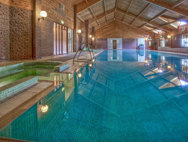 Auchrannie Resort swimming pool