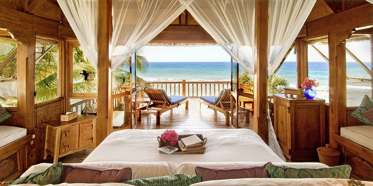 Necker Island room with balcony
