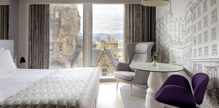 Radisson Collection Hotel, Royal Mile Edinburgh - Views Of Edinburgh Right From Your Bed