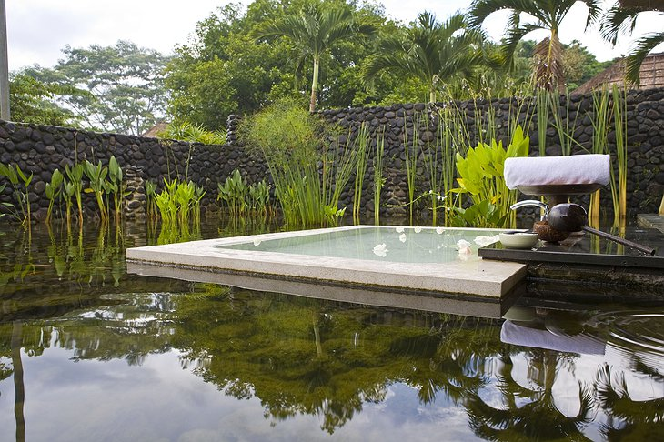 Alila Ubud pool villa bath area