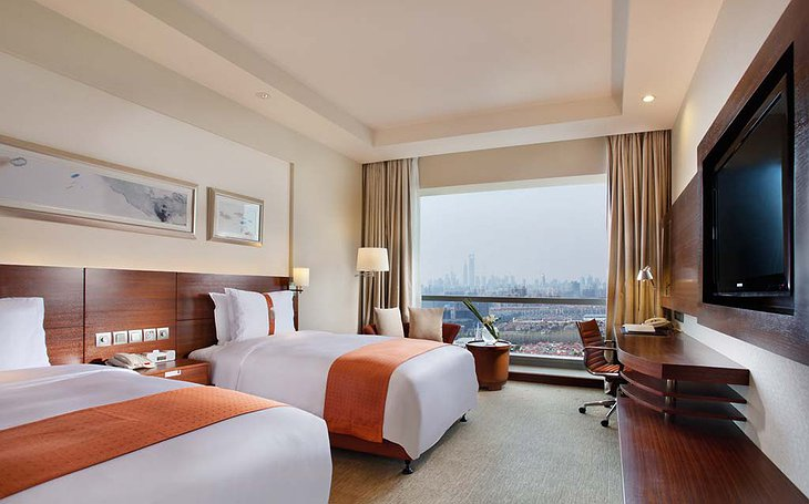 Room with Shanghai city view