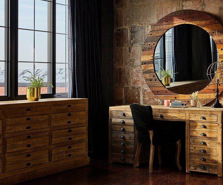 The Collective Paper Factory Penthouse Wooden Furniture