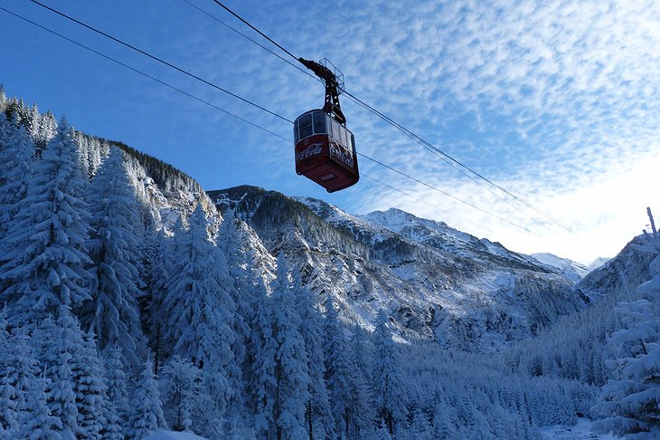 Balea cable car