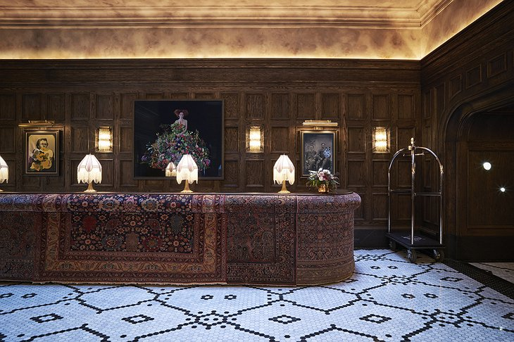 The Beekman Hotel Reception