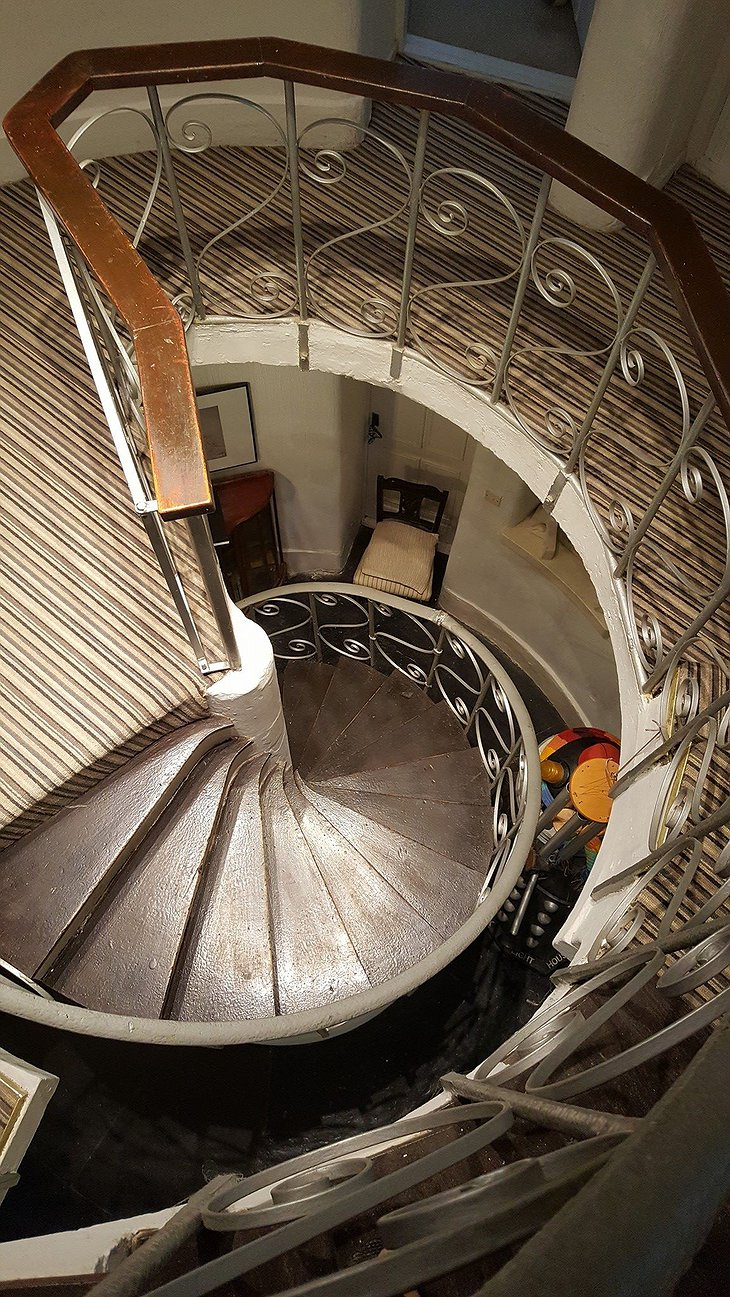 West Usk Lighthouse circle staircase