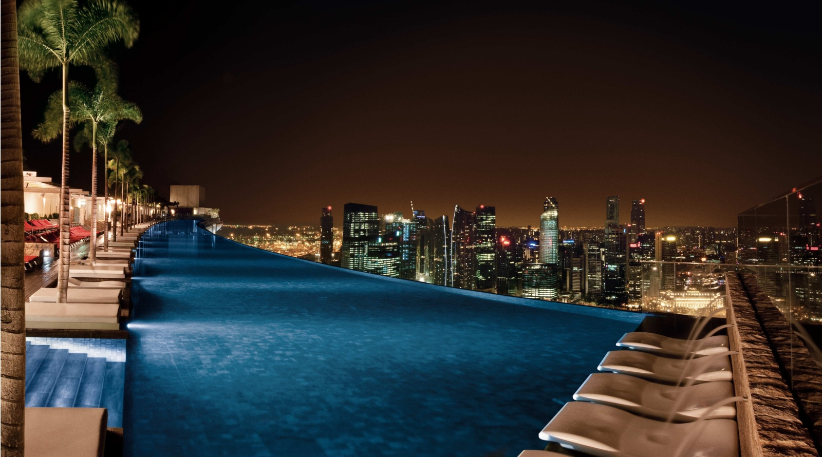 Marina bay sands - Singapore marina bay sands infinity pool ...