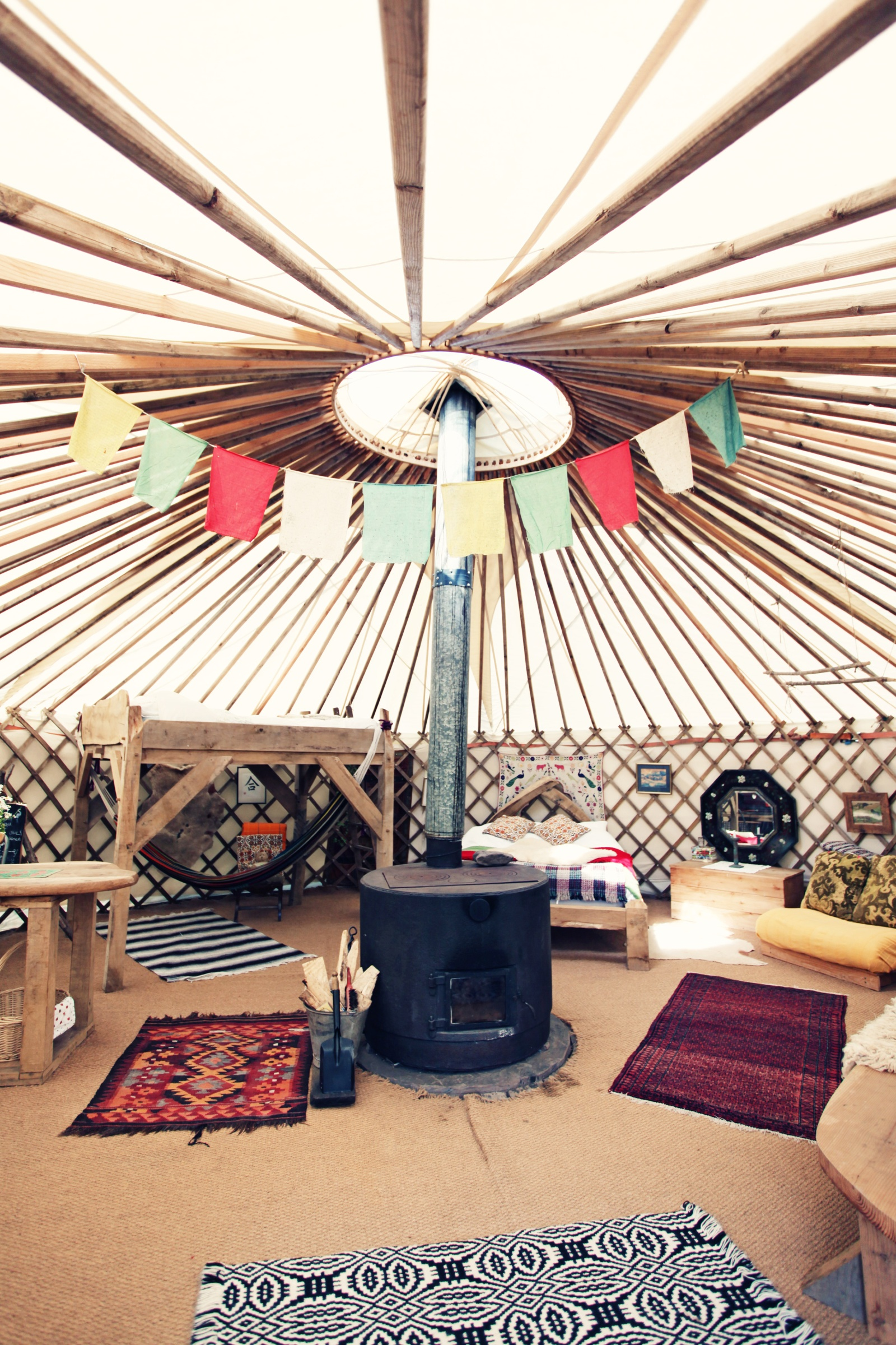 Black Mountains Yurt Traditional Eco Living In Wales