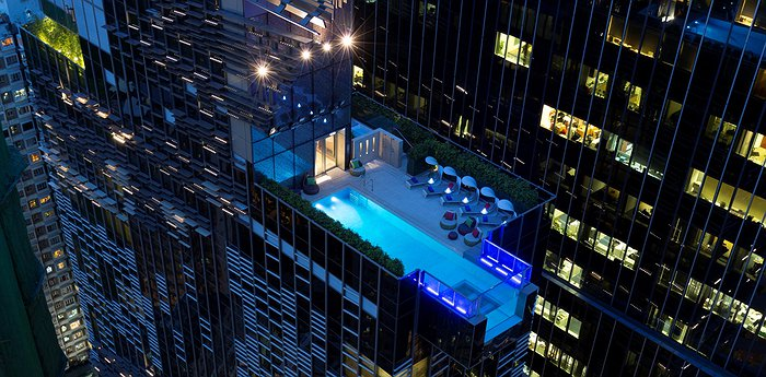 Hotel Indigo Hong Kong - Glass Bottom Swimming Pool & Panorama