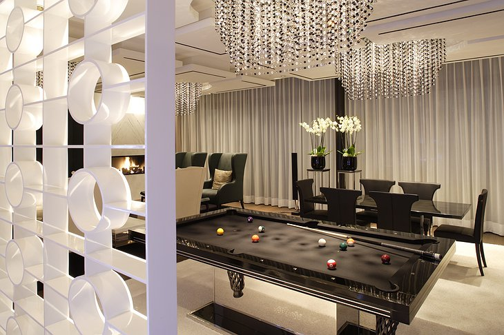 The Dolder Grand Masina Suite Pool Game