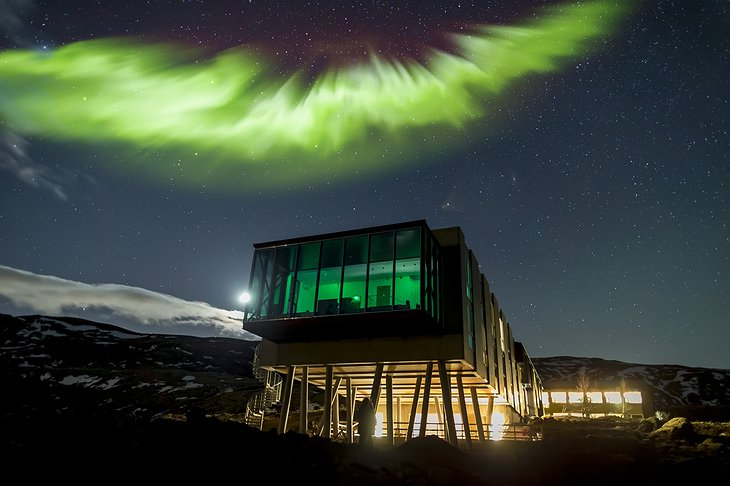 ION Adventure Hotel with Northern Lights