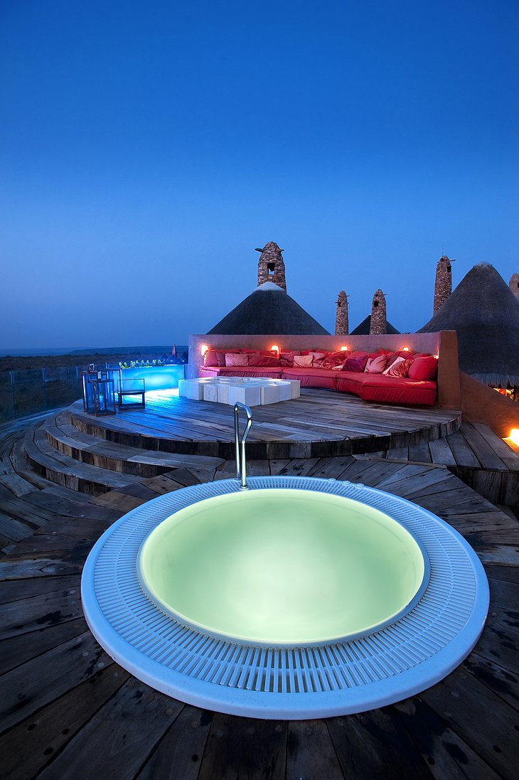 Leobo Private Reserve rooftop jacuzzi