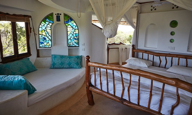 Watamu Treehouse aqua room