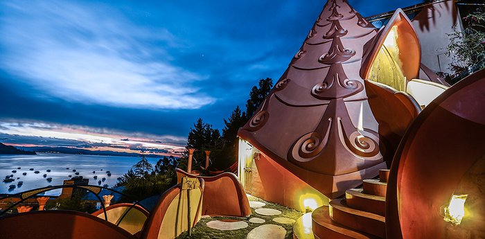 Hostal Las Olas - Quirky villas in Copacabana overlooking Lake Titicaca