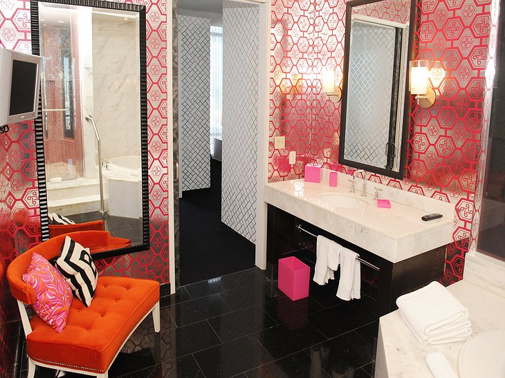 Barbie suite bathroom