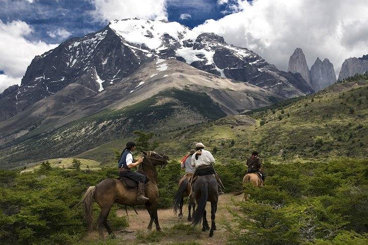 Torres del Paine National Park horse riding