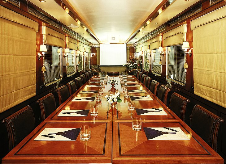 The Blue Train conference room