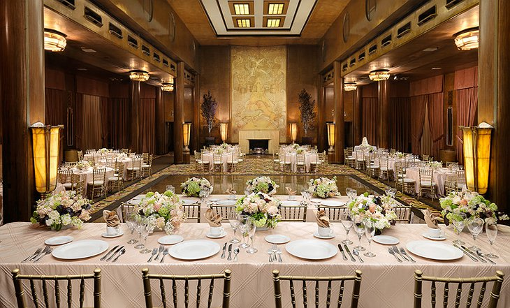 Queen Mary Hotel ballroom