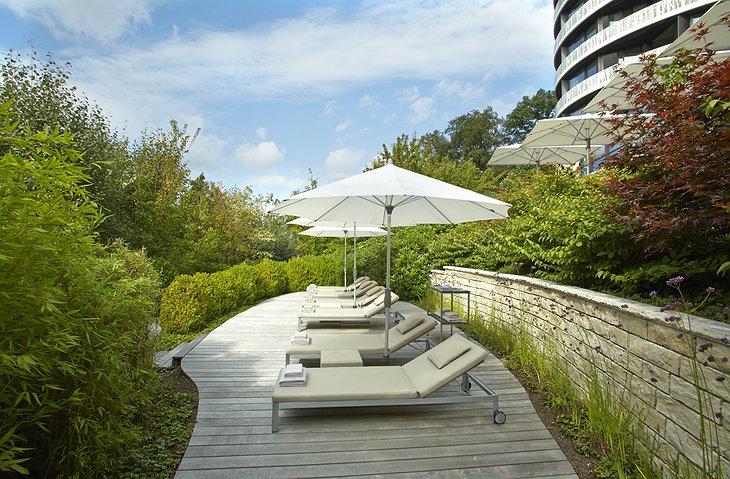 The Dolder Grand Hotel Spa Terrace