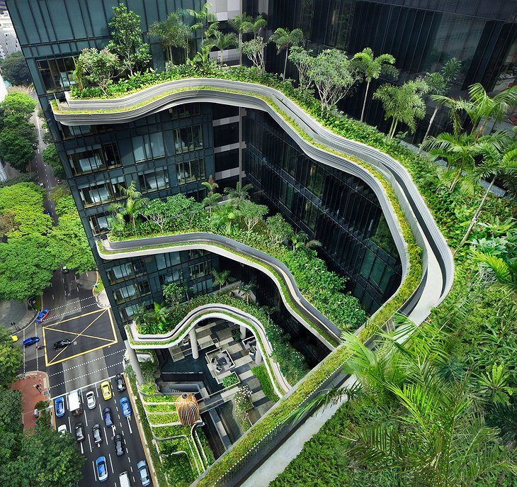 Parkroyal on Pickering sky gardens